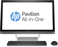 "HP Pavilion 27-a210t 2.4GHz i5-7400T 27"" 1920 x 1080Pixel Argento PC All-in-one"