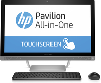 "HP Pavilion 27-a230qe 2.4GHz i5-7400T 27"" 1920 x 1080Pixel Touch screen Argento PC All-in-one"