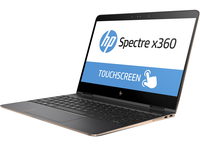 "HP Spectre x360 13-ac041nd 2.70GHz i7-7500U 13.3"" 3840 x 2160Pixel Touch screen Argento Computer portatile"