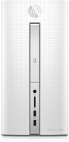 HP Pavilion 510-p124ng 3.8GHz A12-9800 Scrivania Bianco PC