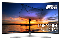"Samsung UE49MU9000 49"" 4K Ultra HD Smart TV Wi-Fi Nero, Argento LED TV"