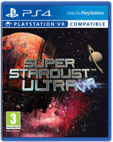 Sony Super Stardust Ultra VR, PS VR Base+DLC PlayStation 4 Inglese videogioco