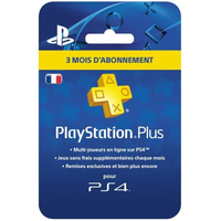 Sony PlayStation Plus: Abonement 3 Mois Multicolore smart card
