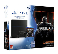 Sony PlayStation 4 + Call Of Duty: Black Ops III 1000GB Wi-Fi Nero