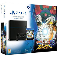 Sony PlayStation 4 + Naruto Shippuden: Ultimate Ninja Storm 4 1000GB Wi-Fi Nero