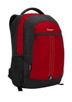 "Targus 15.6"" City Backpack Red 15.6"" Zaino Rosso, Nero"