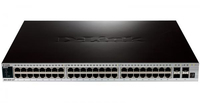 D-Link DGS-3620-52T/EEI Gestito L3 Gigabit Ethernet (10/100/1000) Nero switch di rete