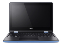 "Acer Aspire R 11 R3-131T-C70L 1.6GHz N3060 11.6"" 1366 x 768Pixel Touch screen Nero, Blu Ibrido (2 in 1)"