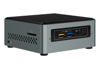 Intel NUC NUC6CAYSAJL 1.50GHz J3455 Nero, Grigio Mini PC