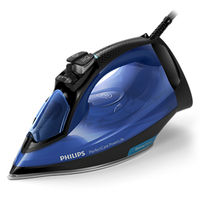 Philips PerfectCare GC3920/21 Ferro a vapore SteamGlide Plus 2400W Nero, Blu ferro da stiro