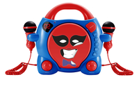 Bigben Interactive My Billy Portable CD player Blu, Rosso