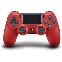 Sony DualShock 4 V2 Gamepad PlayStation 4 Rosso