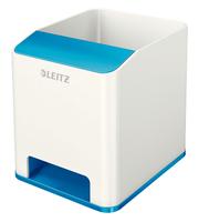 Leitz 53631036 Polystyrene Blue, White pen/pencil holder