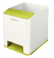 Leitz 53631064 Polystyrene Green, White pen/pencil holder