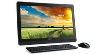 "Acer Aspire AZC-606 2GHz J1900 19.5"" 1600 x 900Pixel Nero PC All-in-one"