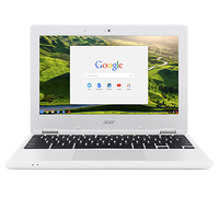 "Acer Chromebook 11 CB3-131-C8GZ 2.16GHz N2840 11.6"" 1366 x 768Pixel Nero, Bianco Chromebook"