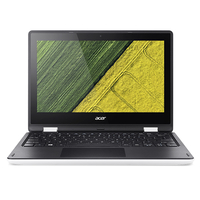 "Acer Aspire R 11 R3-131T-C6NJ 1.6GHz N3050 11.6"" 1366 x 768Pixel Touch screen Nero, Bianco Ibrido (2 in 1)"