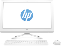 "HP 24-g214la 2GHz A6-7310 23.8"" 1920 x 1080Pixel Bianco PC All-in-one"