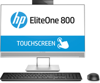 "HP EliteOne 800 G3 3.6GHz i7-7700 23.8"" 1920 x 1080Pixel Touch screen Nero, Argento PC All-in-one"