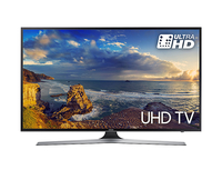 "Samsung 55"" 4K Ultra HD Smart TV Wi-Fi Nero, Argento LED TV"