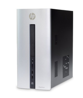 HP Pavilion 550-141NG 3.4GHz i7-6700 Torre Nero, Argento PC