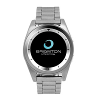 "Brigmton BWATCH-BT6 1.2"" IPS 55g Argento smartwatch"