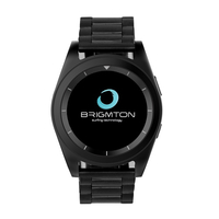 "Brigmton BWATCH-BT6 1.2"" IPS 55g Nero smartwatch"