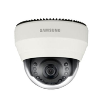 Samsung SND-6011R IP security camera Interno Cupola Avorio