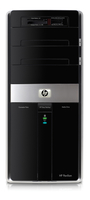 HP Pavilion m9270.de 2.5GHz Q9300 Mini Tower Nero, Argento PC