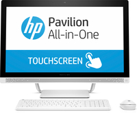 "HP Pavilion 27-a277d + 3y 2.9GHz i7-7700T 27"" 1920 x 1080Pixel Touch screen Bianco PC All-in-one"