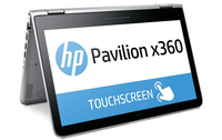 "HP Pavilion x360 13-s030ng 2.1GHz i3-5010U 13.3"" 1920 x 1080Pixel Touch screen Argento Ibrido (2 in 1)"