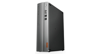 Lenovo IdeaCentre 510S 3.9GHz i3-7100 Nero, Argento PC