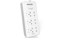 Philips SPS3621S/93 Interno 6presa(e) AC 3m Bianco prolunghe e multiple