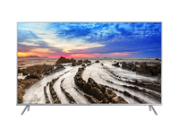 "Samsung MU7000 55"" 4K Ultra HD Smart TV Wi-Fi Nero, Argento LED TV"