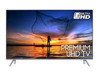 "Samsung UE55MU7000 55"" 4K Ultra HD Smart TV Wi-Fi Nero, Argento LED TV"