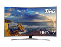 "Samsung UE49MU6500 49"" 4K Ultra HD Smart TV Wi-Fi Nero, Argento LED TV"
