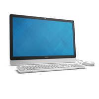 "DELL Inspiron 3464 2.40GHz i3-7100U 23.8"" 1920 x 1080Pixel Touch screen Nero, Argento, Bianco PC All-in-one"