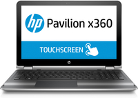 "HP Pavilion x360 15-bk004nc 2.3GHz i5-6200U 15.6"" 1920 x 1080Pixel Touch screen Argento Ibrido (2 in 1)"