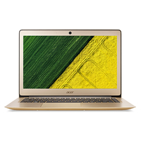 "Acer Swift SF314-51-59C3+Pack Gold 15"" 2.50GHz i5-7200U 14"" 1920 x 1080Pixel Oro Computer portatile"