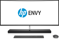 "HP ENVY 34-b050nc 2.4GHz i5-7400T 34"" 3440 x 1440Pixel Bianco, Nero PC All-in-one"