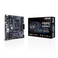 ASUS MB PRIME A320M-K AMD A320 Socket AM4 Micro ATX scheda madre