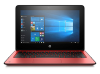 "HP ProBook x360 11 G1 1.10GHz N4200 11.6"" 1366 x 768Pixel Touch screen Rosso Ibrido (2 in 1)"