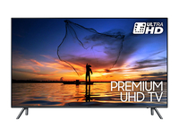 "Samsung UE55MU7040 55"" 4K Ultra HD Smart TV Wi-Fi Nero, Argento LED TV"