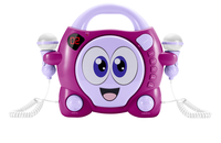 Bigben Interactive My Bubble Portable CD player Rosa, Porpora, Bianco