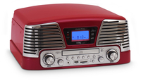 Bigben Interactive TD79RM+BLISS Metallico, Rosso piatto audio