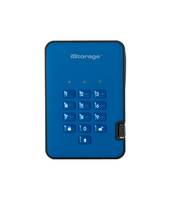iStorage diskAshur 2 128GB Blu