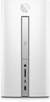 HP Pavilion 570-p055ng 3.5GHz A10-9700 Scrivania Bianco PC