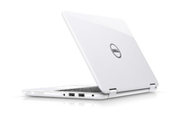 "DELL Inspiron 3168 1.6GHz N3710 11.6"" 1366 x 768Pixel Touch screen Nero, Bianco Ibrido (2 in 1)"