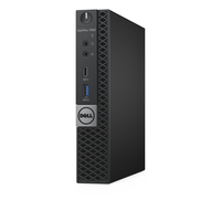 DELL OptiPlex 7050m 2.9GHz i7-7700T PC di dimensione 1,2L Nero Mini PC