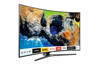 "Samsung UE55MU6645U 55"" 4K Ultra HD Smart TV Wi-Fi Nero, Titanio LED TV"